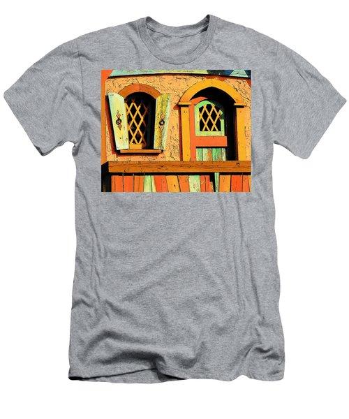 Storybook Window And Door Men's T-Shirt (Athletic Fit)