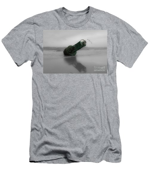 Men's T-Shirt (Slim Fit) featuring the photograph Stranded Too by Angela DeFrias