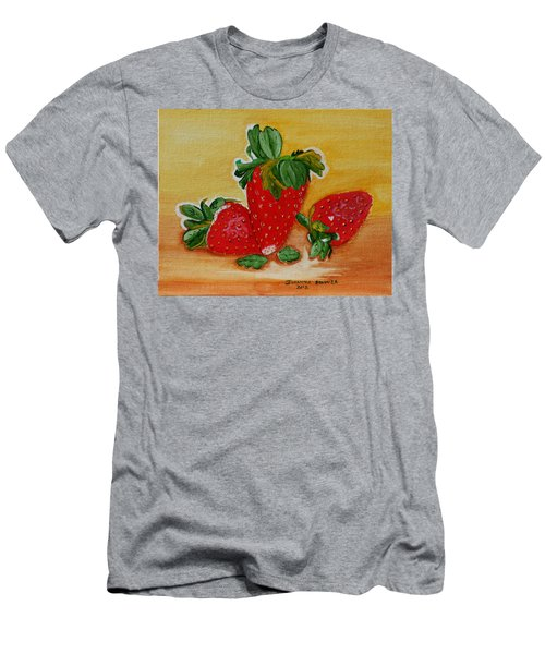 Strawberry Delight Men's T-Shirt (Athletic Fit)