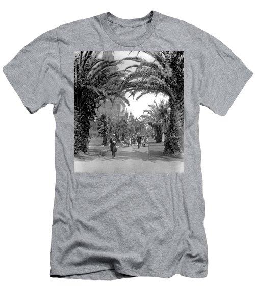 Avenue Of The Palms, San Francisco Men's T-Shirt (Athletic Fit)