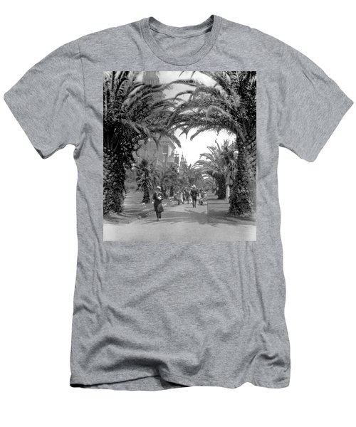 Avenue Of The Palms, San Francisco Men's T-Shirt (Athletic Fit)
