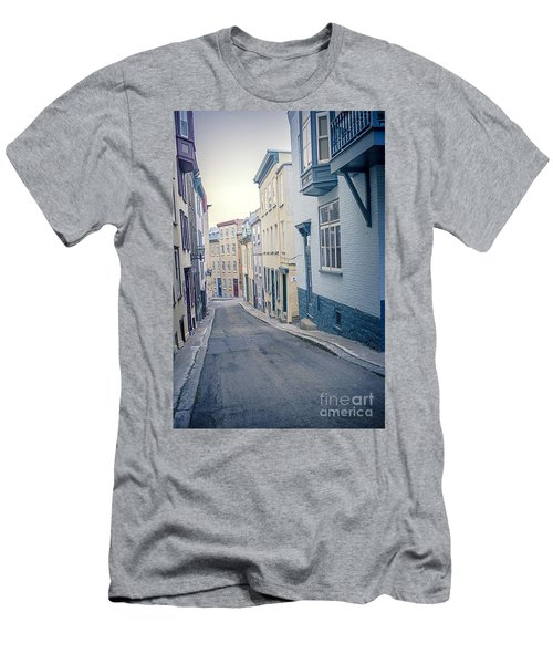 Streets Of Old Quebec City Men's T-Shirt (Athletic Fit)