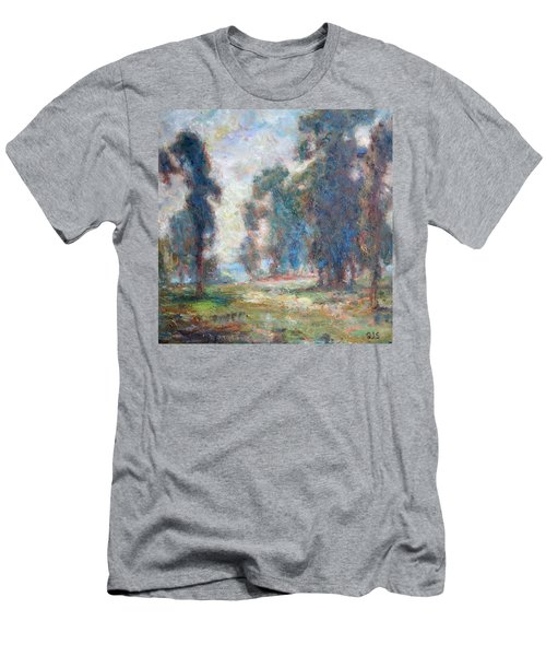 Study Of An Impressionist Master Men's T-Shirt (Athletic Fit)