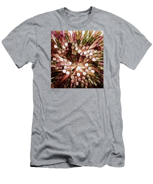 Men's T-Shirt (Slim Fit) featuring the photograph Study The Light Through These  by John King