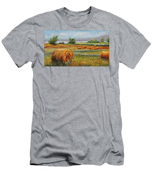 Summer Bales Men's T-Shirt (Athletic Fit)