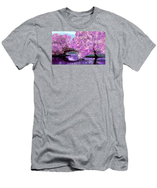 Summer Bridge Men's T-Shirt (Slim Fit) by Michele Avanti