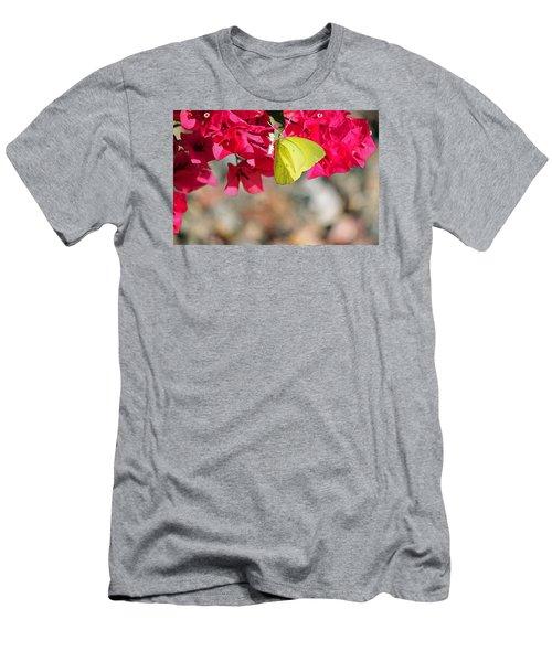 Summer Garden II In Watercolor Men's T-Shirt (Athletic Fit)