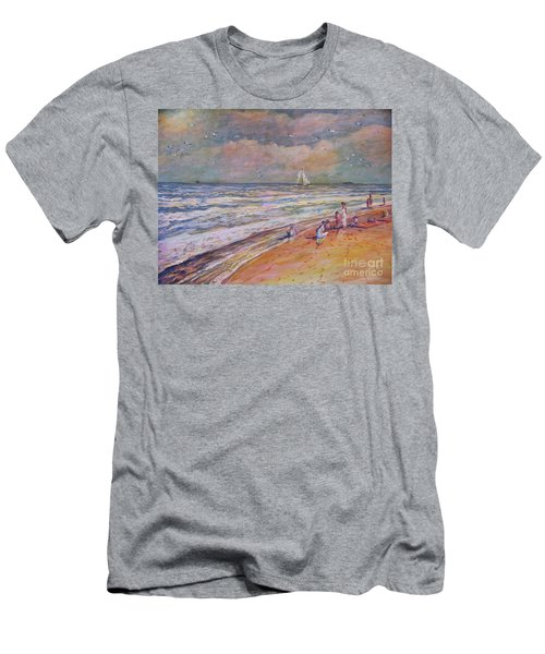 Summer Vacations Men's T-Shirt (Athletic Fit)