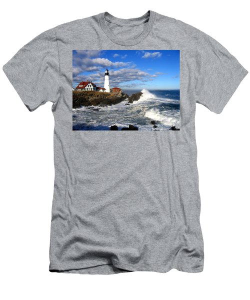 Summer Waves Men's T-Shirt (Athletic Fit)