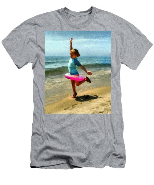 Summertime Girl Men's T-Shirt (Athletic Fit)