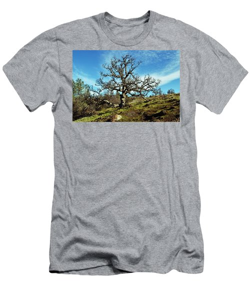 Summit Of Monkey Face Men's T-Shirt (Athletic Fit)