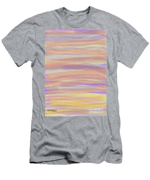Abstract Sun Sea And Sand Men's T-Shirt (Athletic Fit)
