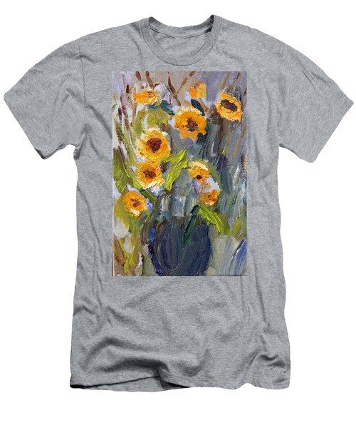 Sunflower Bouquet Men's T-Shirt (Athletic Fit)