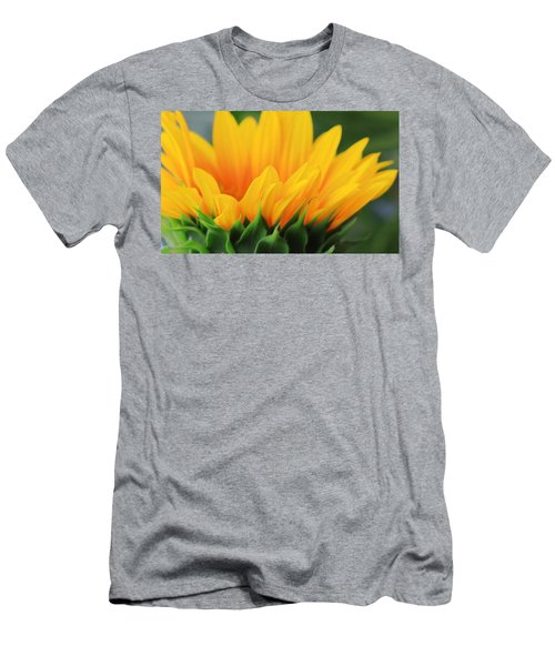 Sunflower Profile Men's T-Shirt (Athletic Fit)