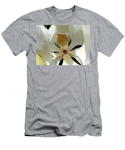 Sunny And Shy Magnolia Men's T-Shirt (Athletic Fit)
