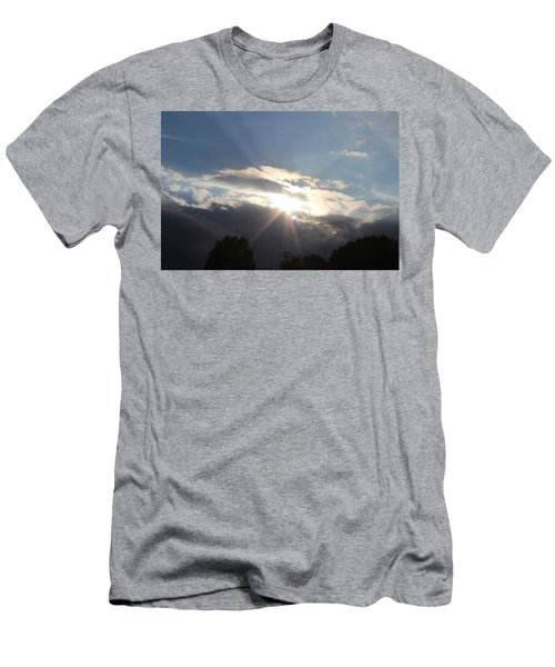 Sunny Skies Men's T-Shirt (Athletic Fit)