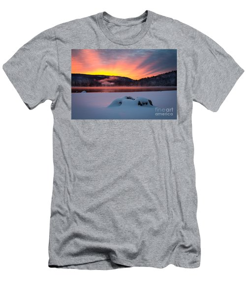 Sunrise At Bass Lake Men's T-Shirt (Athletic Fit)
