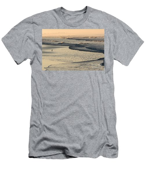 Men's T-Shirt (Athletic Fit) featuring the photograph Sunrise On The Ocean by John Wadleigh