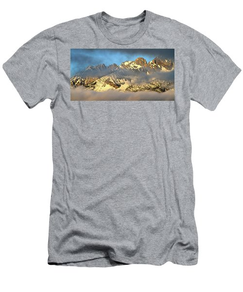 Sunrise On Thompson Peak Men's T-Shirt (Athletic Fit)