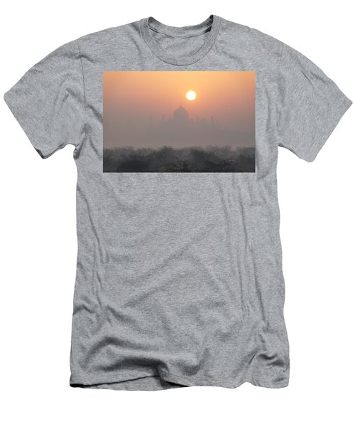 Sunrise Over The Taj Men's T-Shirt (Athletic Fit)