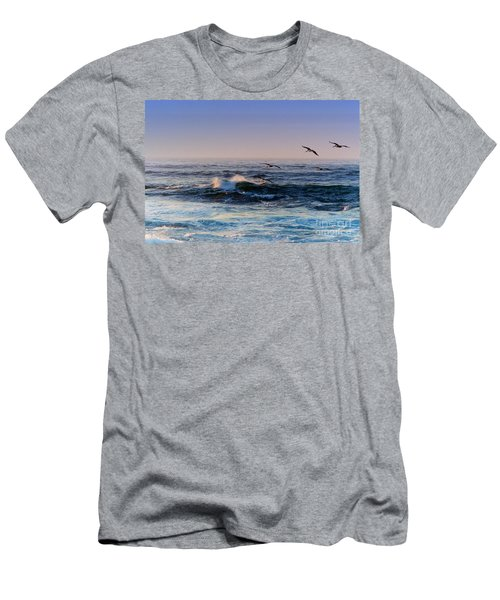 Sunset Fly Men's T-Shirt (Athletic Fit)