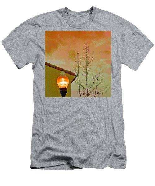 Sunset Lantern Men's T-Shirt (Athletic Fit)