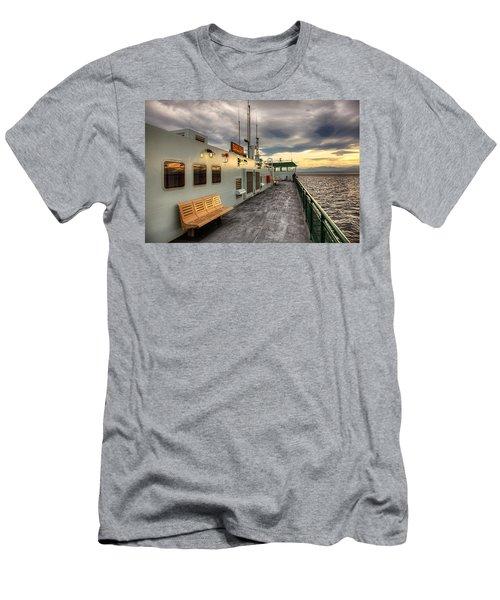 Sunset On Salish Men's T-Shirt (Athletic Fit)