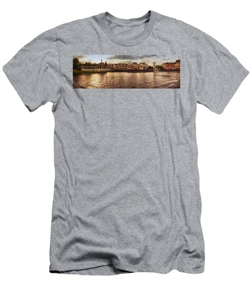 Sunset On The Boardwalk Walt Disney World Men's T-Shirt (Athletic Fit)
