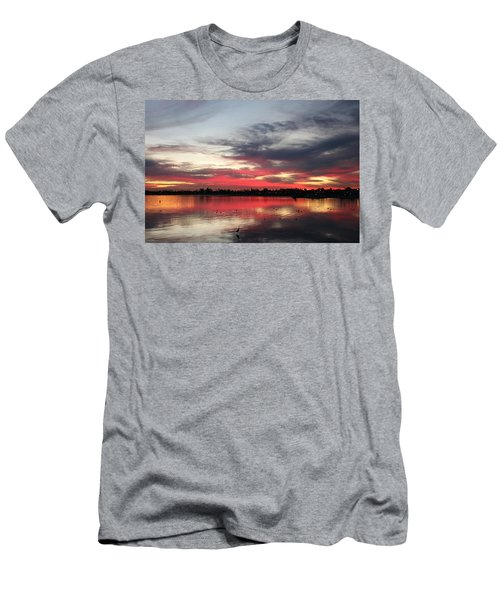 Sunset Over Mission Bay  Men's T-Shirt (Athletic Fit)