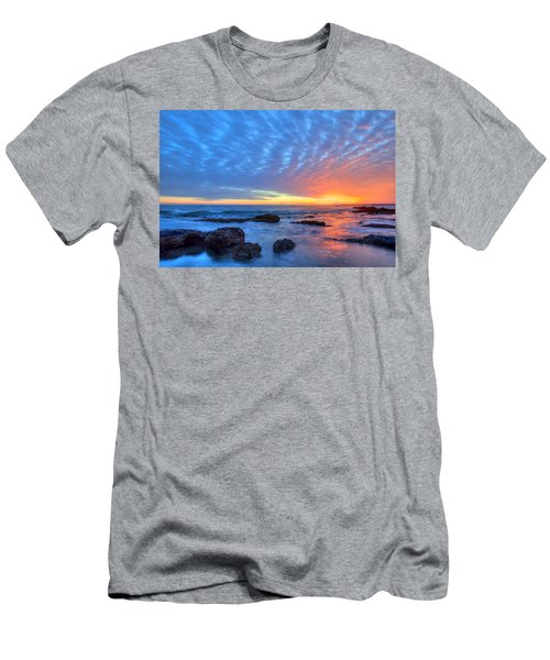 Sunset Reflections Newport Beach Men's T-Shirt (Athletic Fit)