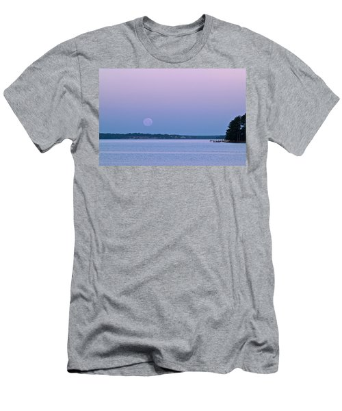 Super Moon Setting-1 Men's T-Shirt (Athletic Fit)