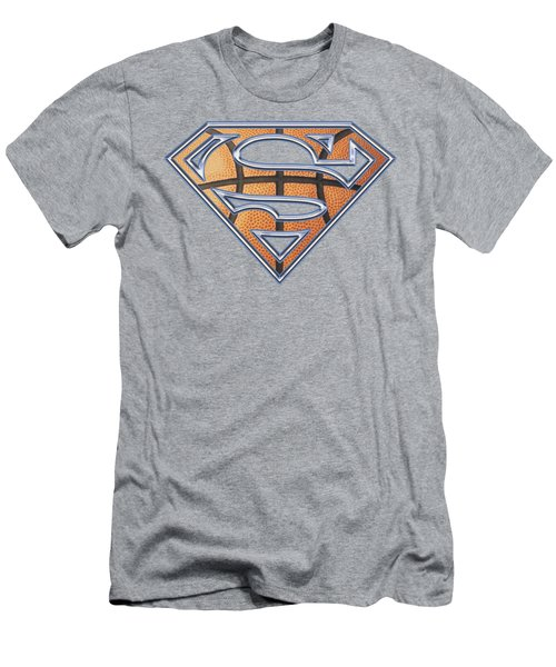 Superman - Basketball Shield Men's T-Shirt (Athletic Fit)