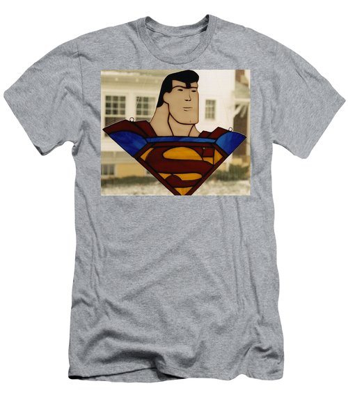 Superman Panel Men's T-Shirt (Athletic Fit)