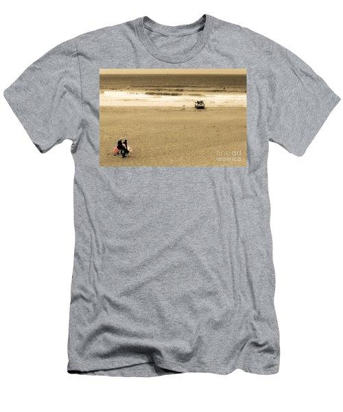 Morning Surf Men's T-Shirt (Athletic Fit)