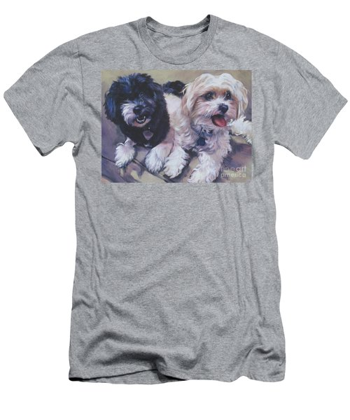 Sweet Havanese Men's T-Shirt (Slim Fit) by Lee Ann Shepard