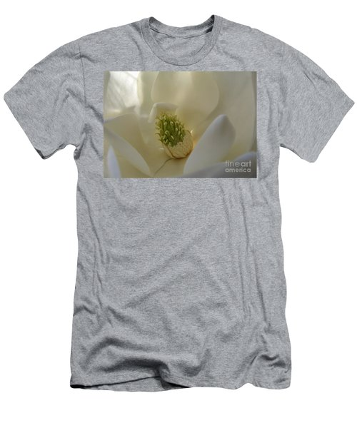 Sweet Magnolia Men's T-Shirt (Slim Fit) by Peggy Hughes