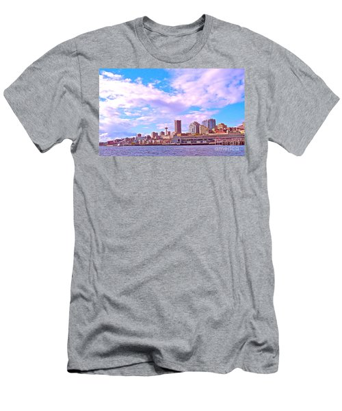 Sweet Seattle Men's T-Shirt (Slim Fit) by Gem S Visionary