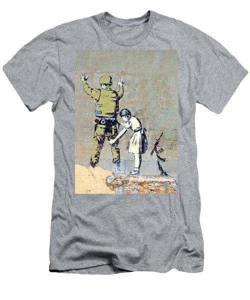 Switch Roles Men's T-Shirt (Slim Fit) by Munir Alawi