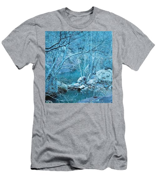 Sycamores And River Men's T-Shirt (Athletic Fit)