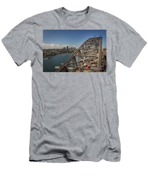 Sydney Harbour Bridge Men's T-Shirt (Athletic Fit)