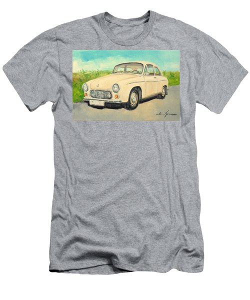 Syrena 105 - Polish Car Men's T-Shirt (Athletic Fit)