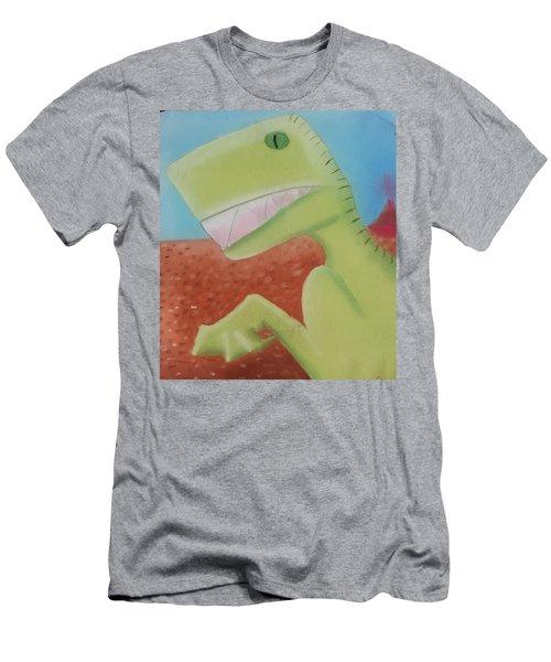 Dinoart Reptillian  Men's T-Shirt (Slim Fit) by Joshua Maddison