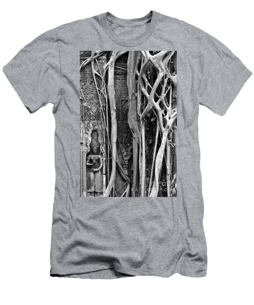 Ta Prohm Roots And Stone 09 Men's T-Shirt (Athletic Fit)