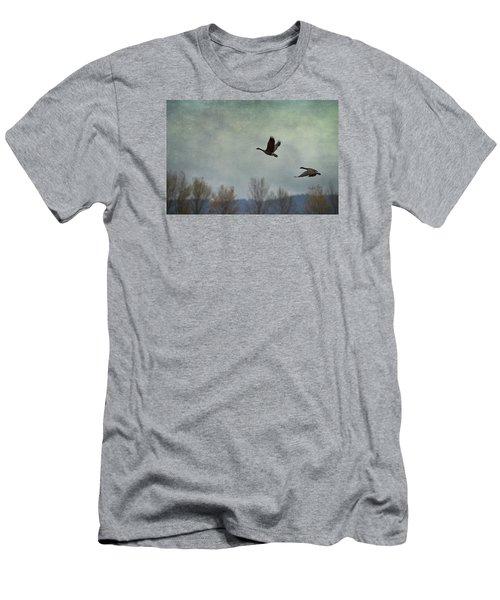 Taking Flight Men's T-Shirt (Slim Fit) by Belinda Greb