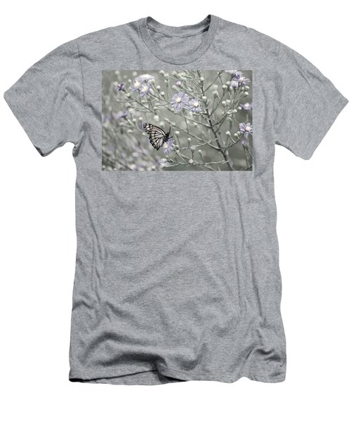 Taking Time To Smell The Flowers Men's T-Shirt (Athletic Fit)