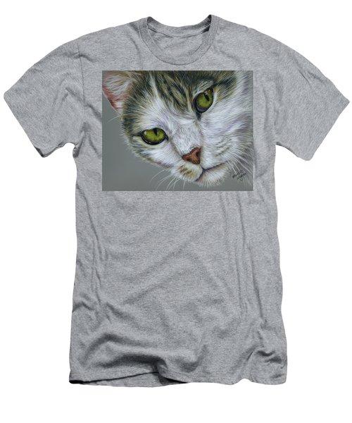 Tara Cat Art Men's T-Shirt (Athletic Fit)