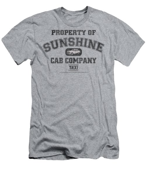 Taxi - Property Of Sunshine Cab Men's T-Shirt (Athletic Fit)