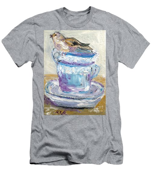 Tea Time  Men's T-Shirt (Athletic Fit)