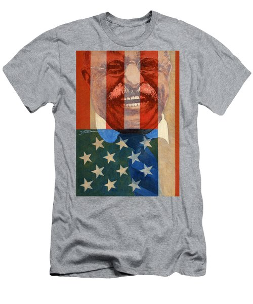 Teddy Roosevelt Men's T-Shirt (Athletic Fit)