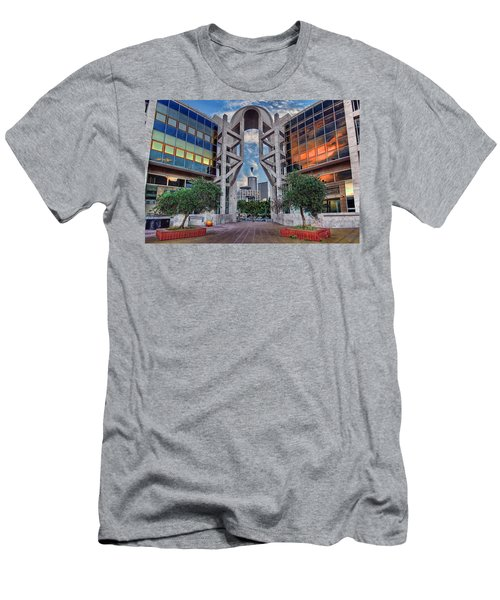 Tel Aviv Performing Arts Center Men's T-Shirt (Athletic Fit)
